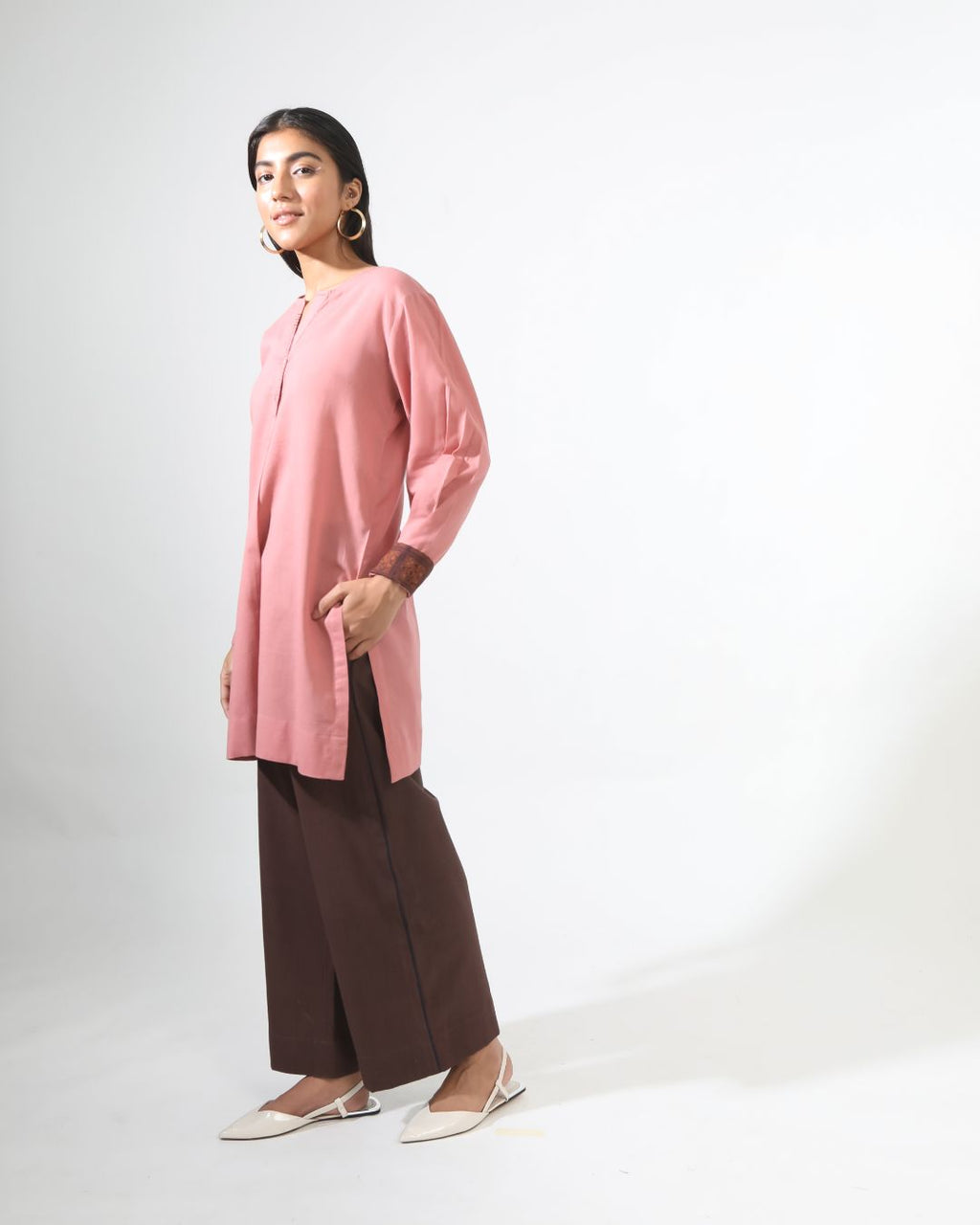 Rose Ease Top/Kurta