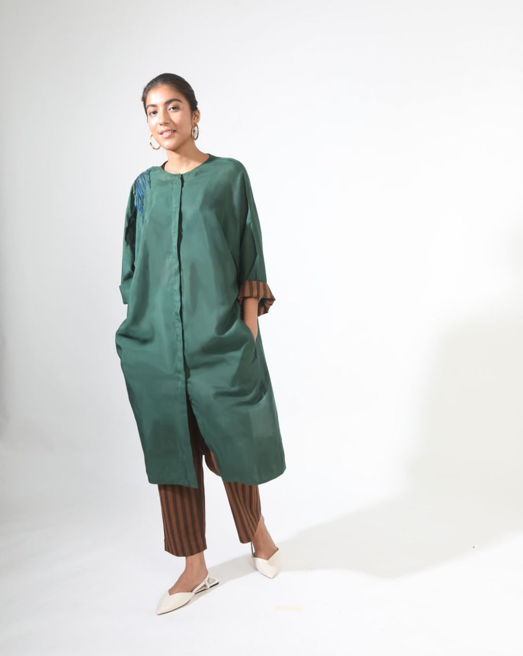 Gardenia Sage Anti-Fit Kurta