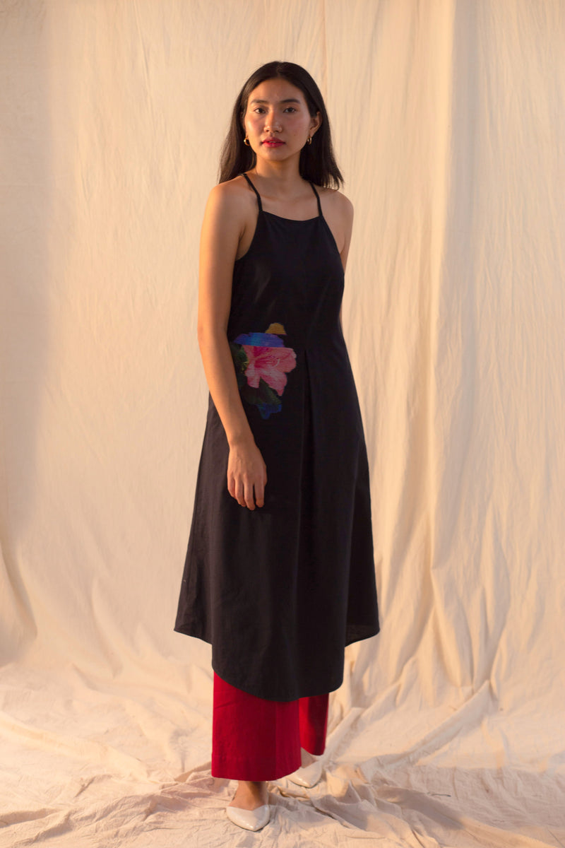 Luna Noir Dress / Kurta