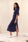 Blue Let Fly Dress / Overlay