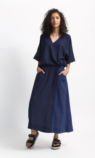 Bltiz Navy Ease Skirt