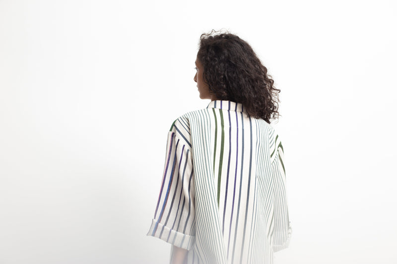 Multistripe Spectrum Jacket