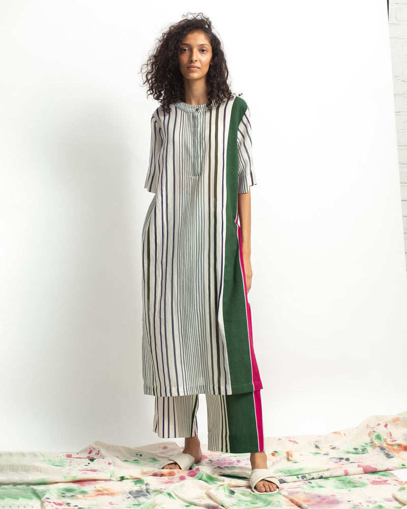 Spectrum Multi Stripes Kurta