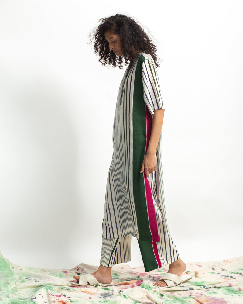Spectrum Multi Stripes Straight Fit Pants