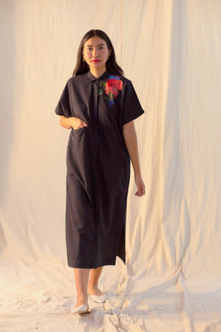 Moss Side Button Kurta