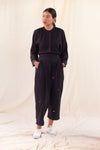 Noir Lune Drop crotch pants
