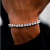 Drippy 5mm Round Cut Tennis Bracelet