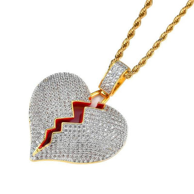Drippy Broken Heart Chain