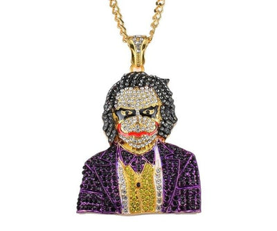 Joker Pendant With Chain