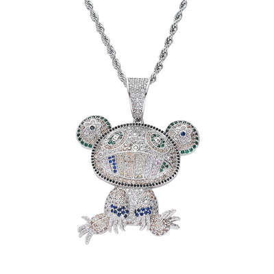 Drippy Iced Out Monkey With Chain