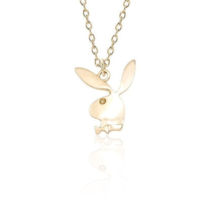 Drippy Playboy Pendant With Necklace