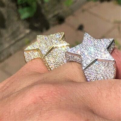 Drippy 3D Star Ring
