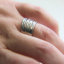 Thin Stackable Band Single Sterling Silver Ring Choice of Finish