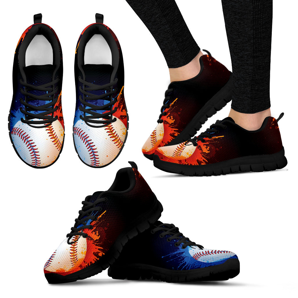 Awesome Baseball Women's Sneakers