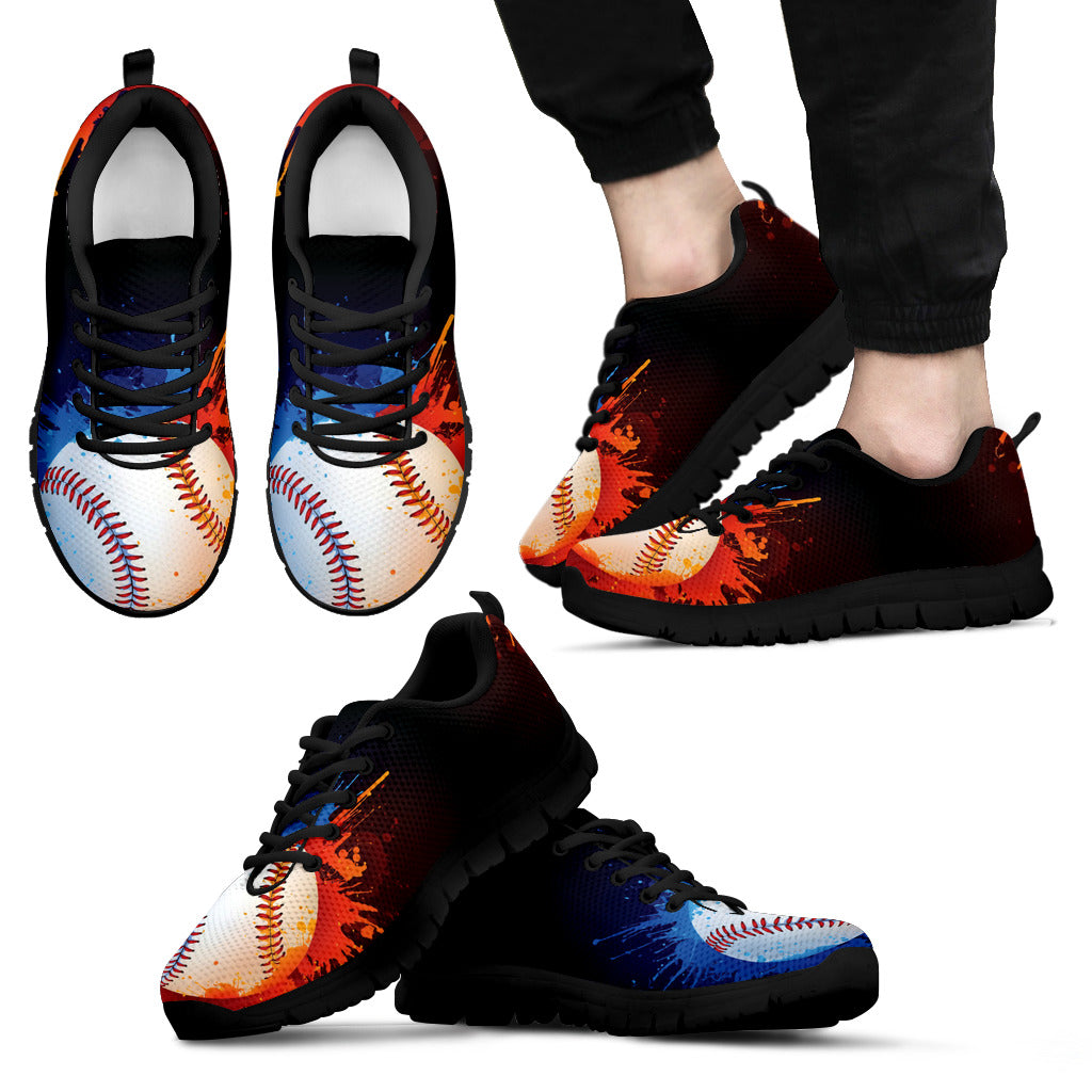 Awesome Baseball Men's Sneakers