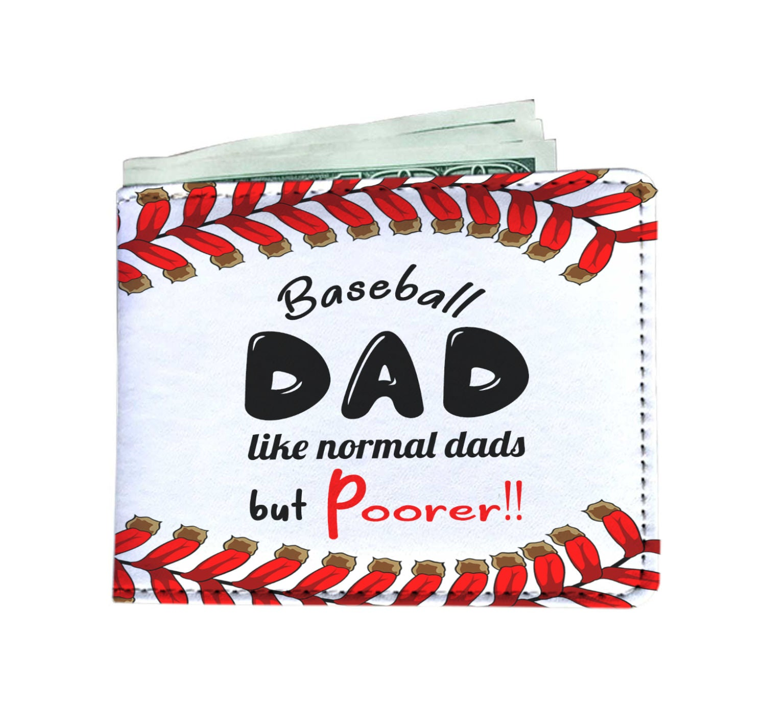 Baseball Dad Wallet