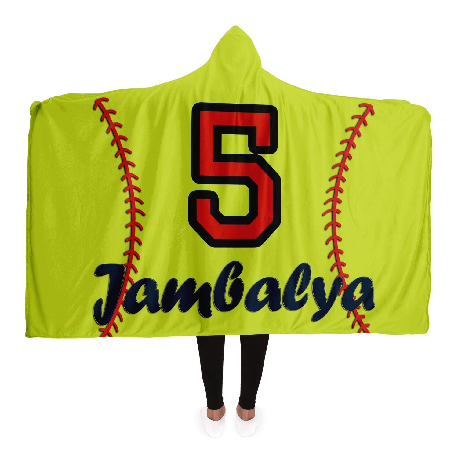 draft personalized hooded blanket 6990