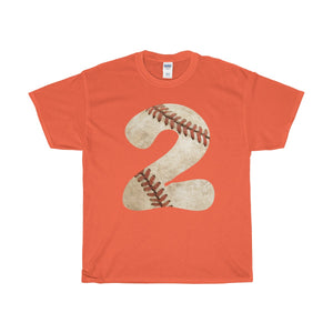 Personalized Number Baseball Unisex T-shirt