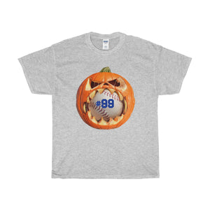 Personalized Pumpkin Baseball Unisex T-shirt