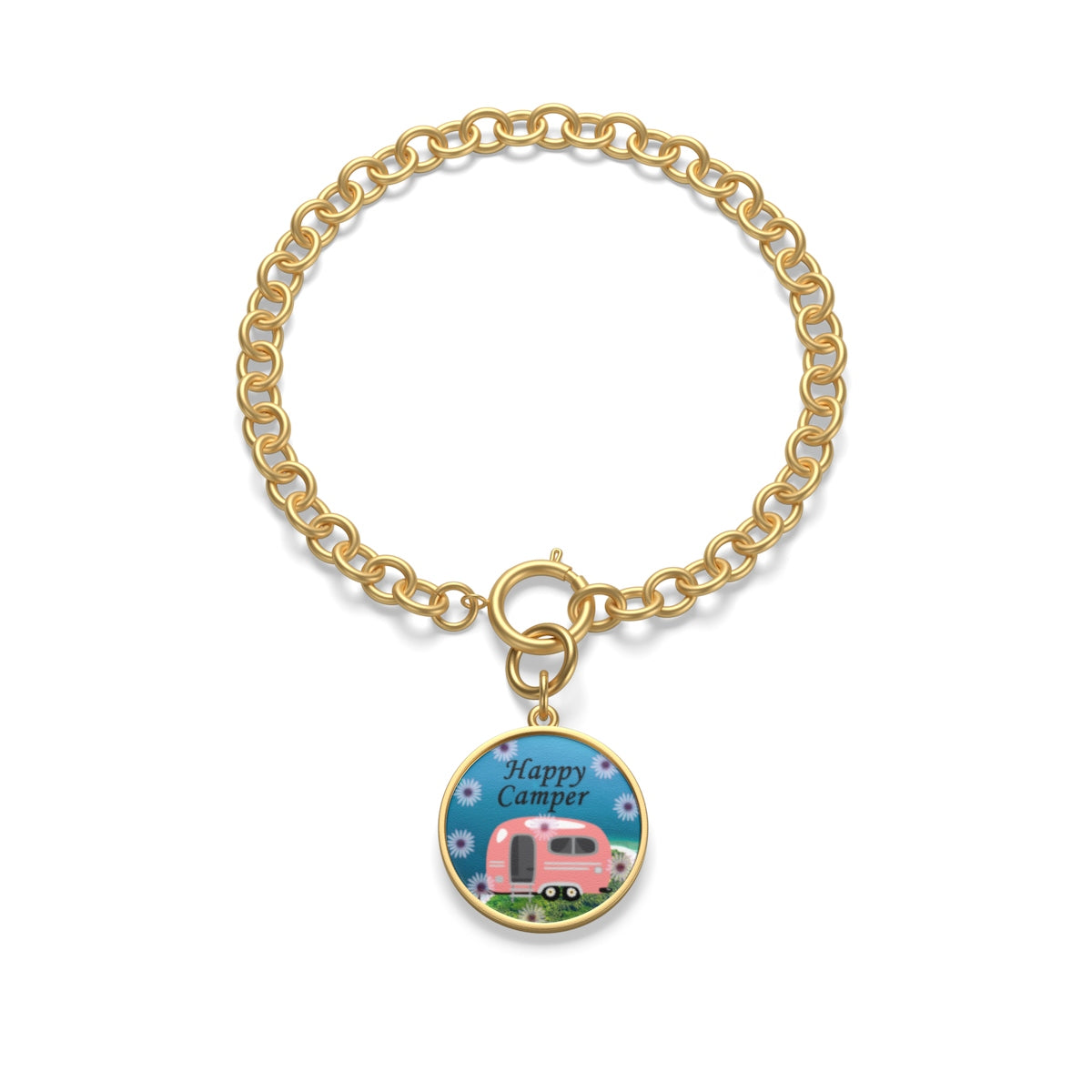 Happy Camper Chain Bracelet