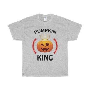 Halloween Pumpkin King Baseball Unisex T-shirt