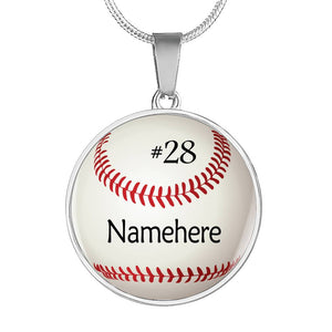 Personalized Lovely Baseball Jewelry