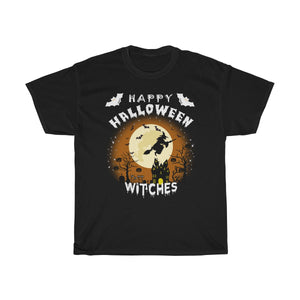 Happy Halloween Witches Unisex Tshirt