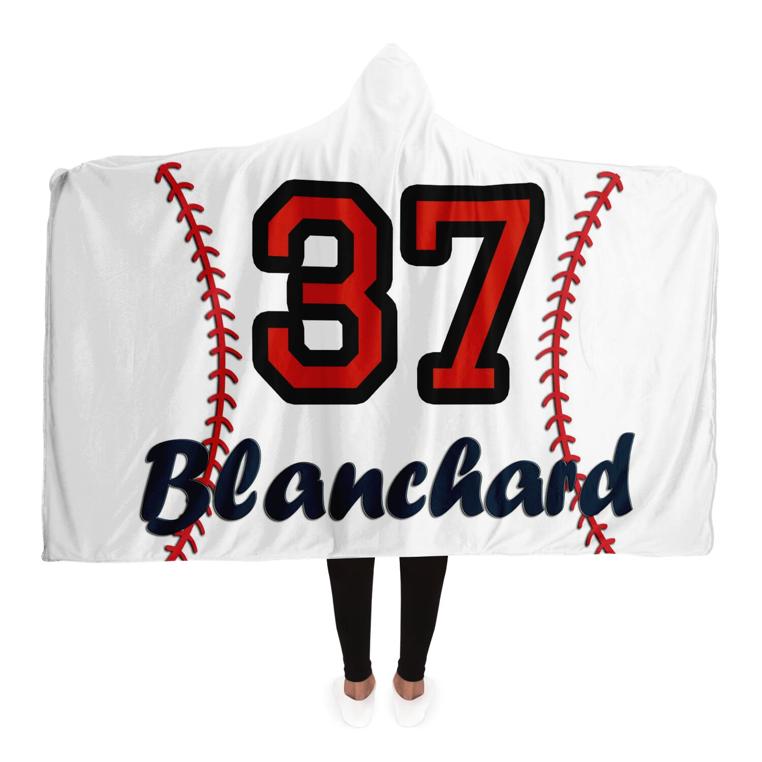 draft personalized hooded blanket 6980