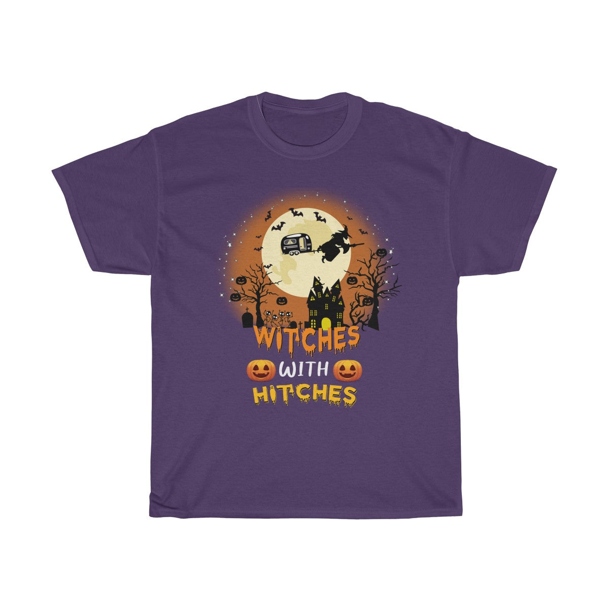 Witches With Hitches Camping Halloween T-shirt
