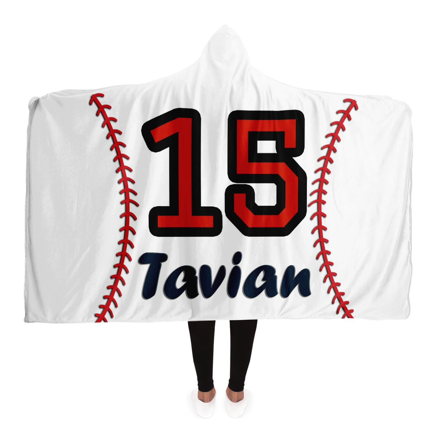 draft personalized hooded blanket 6982