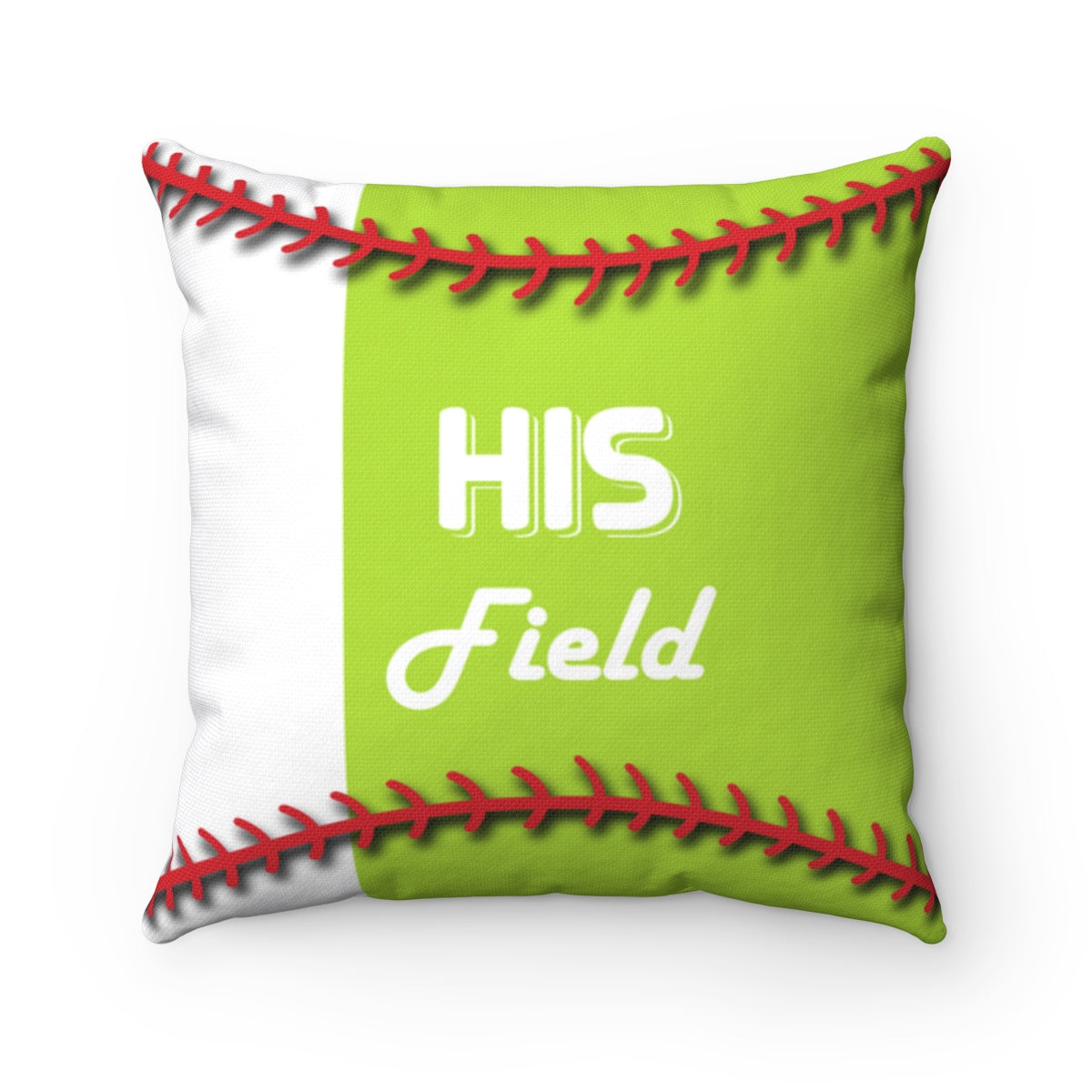 His Field Square Pillow