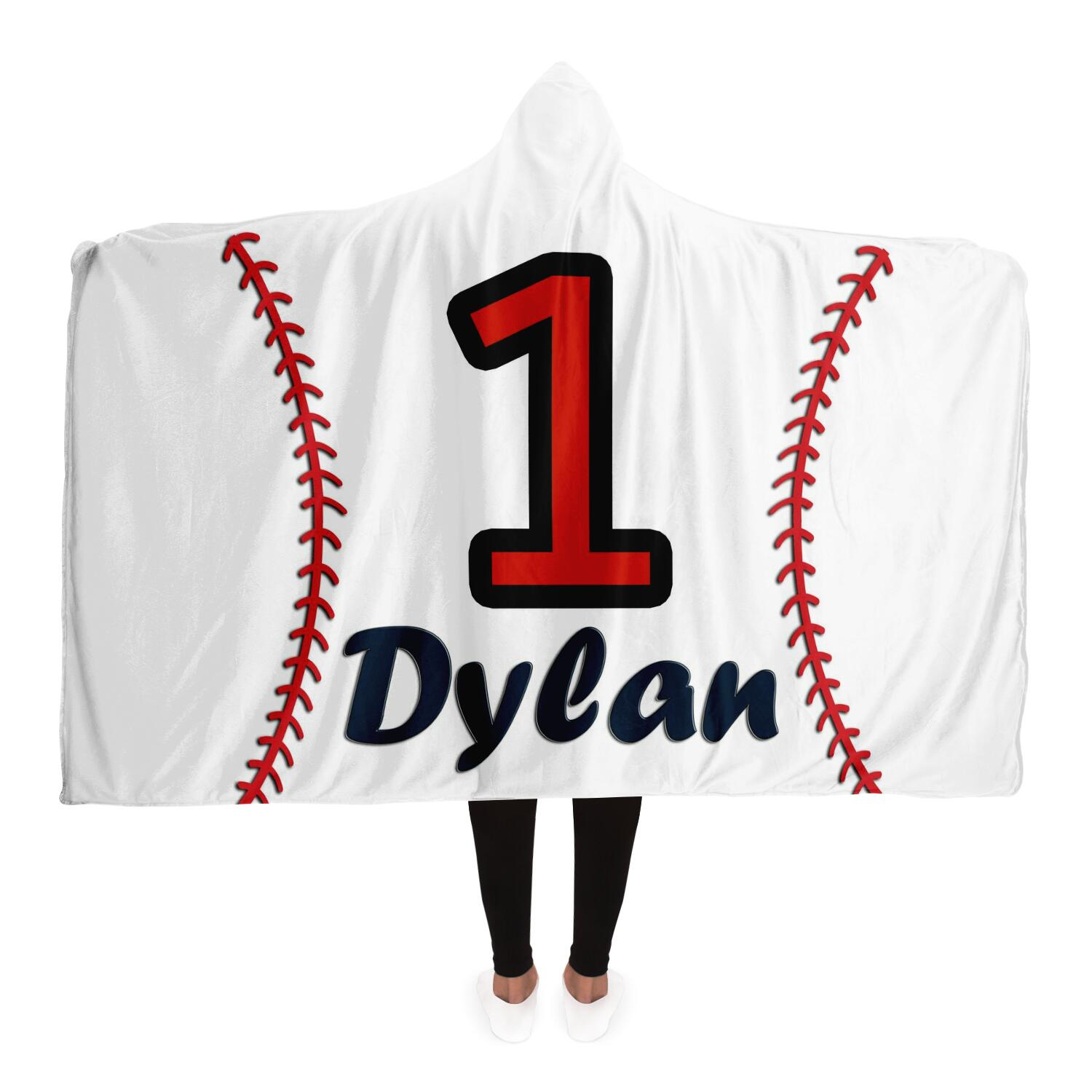 draft personalized hooded blanket 6979