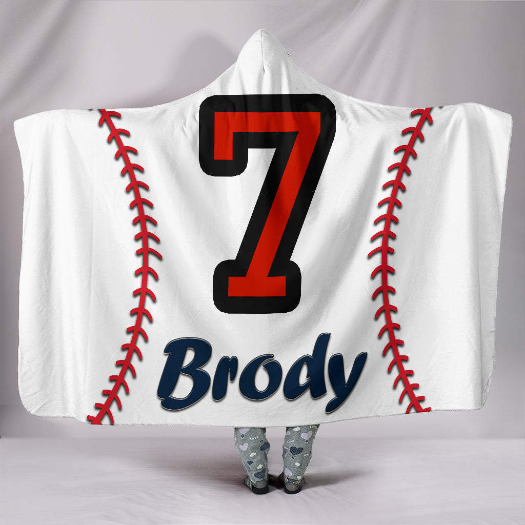 draft personalized hooded blanket 4355