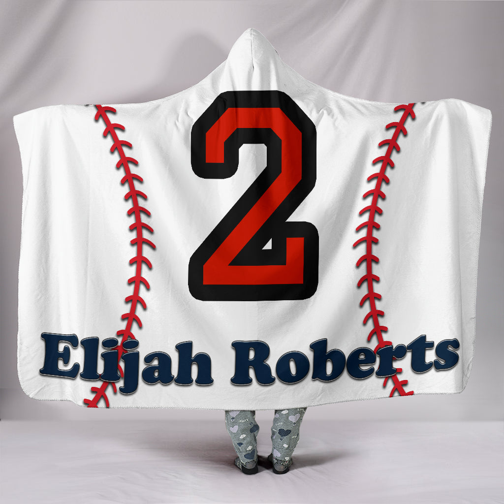 draft personalized hooded blanket 5279