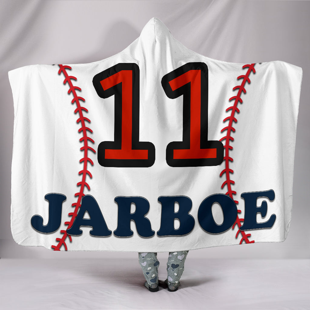 draft personalized hooded blanket 5581