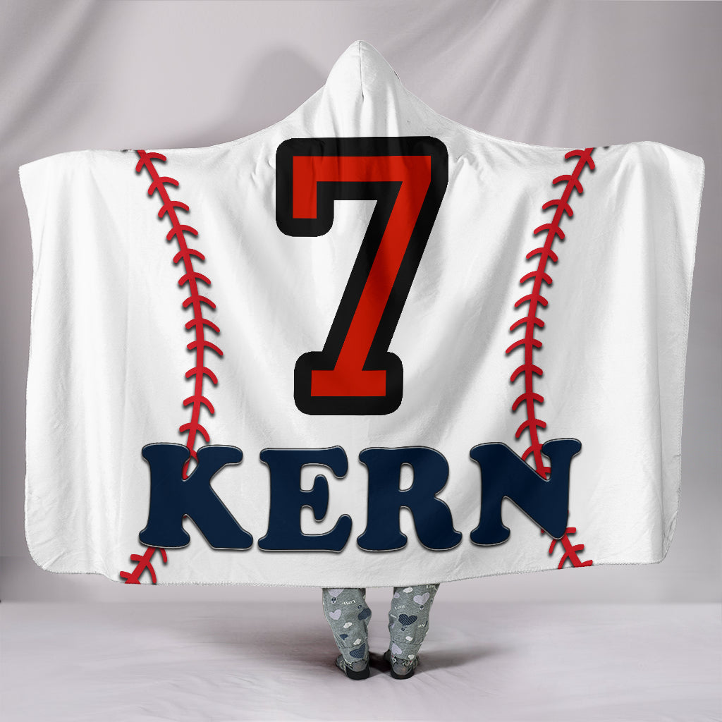 draft personalized hooded blanket 5914
