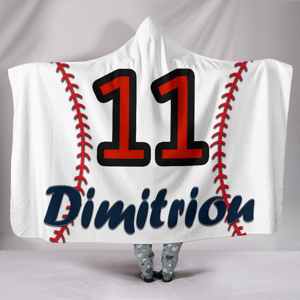 draft personalized hooded blanket 4399