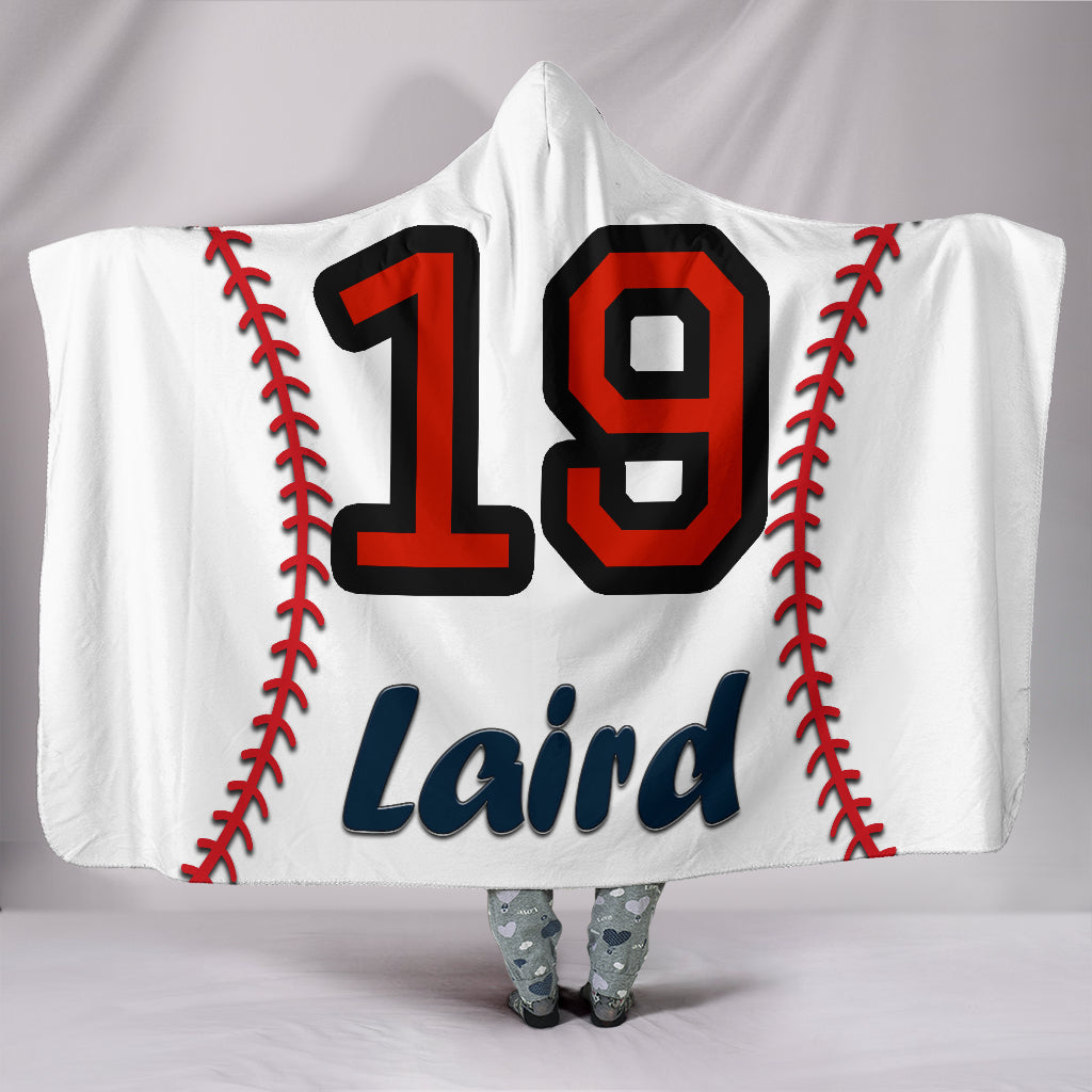 draft personalized hooded blanket 4897