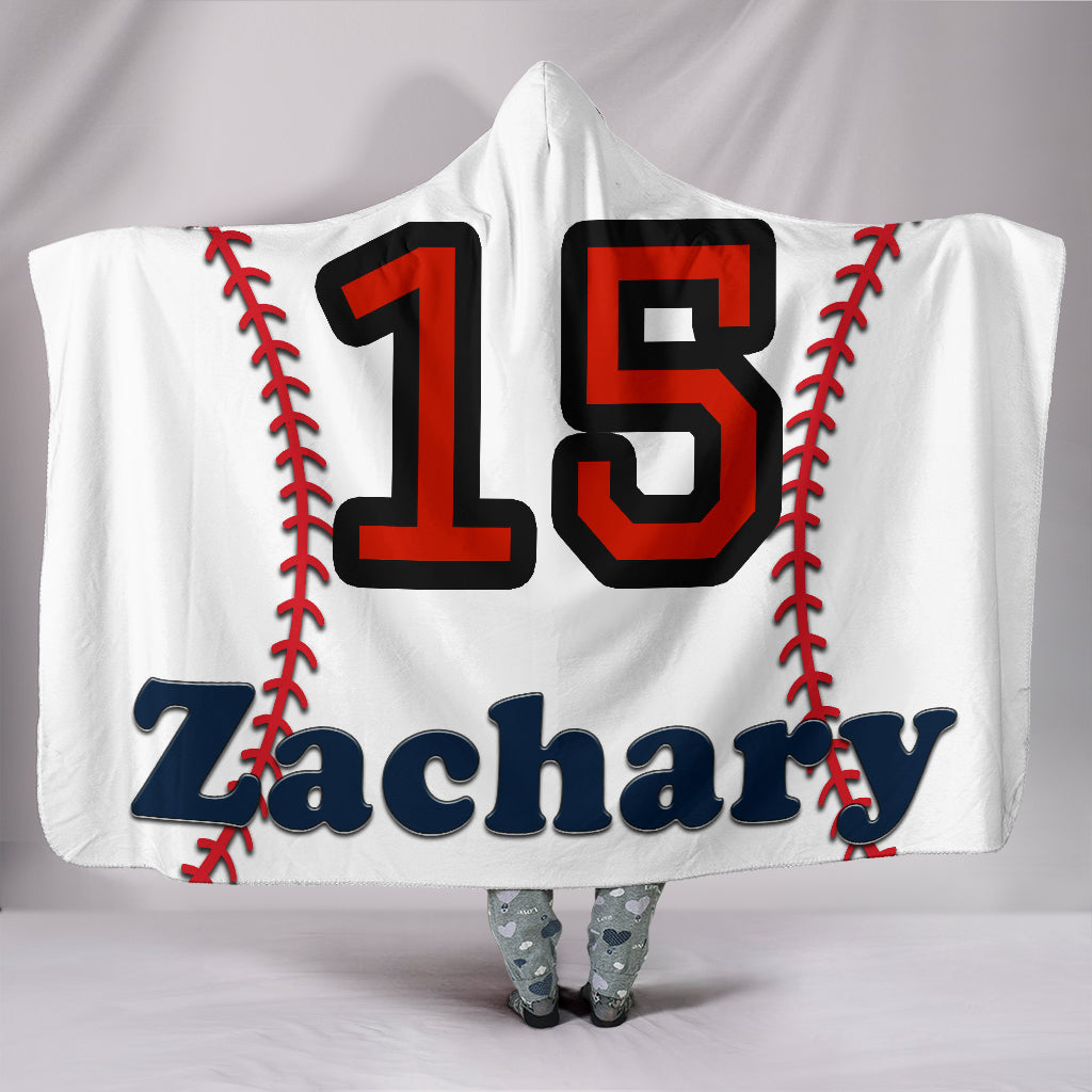 draft personalized hooded blanket 5597