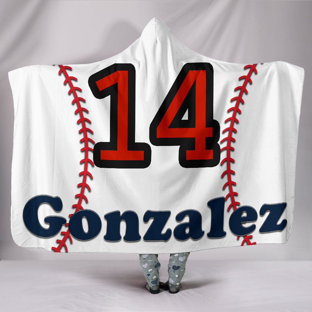 draft personalized hooded blanket 6335
