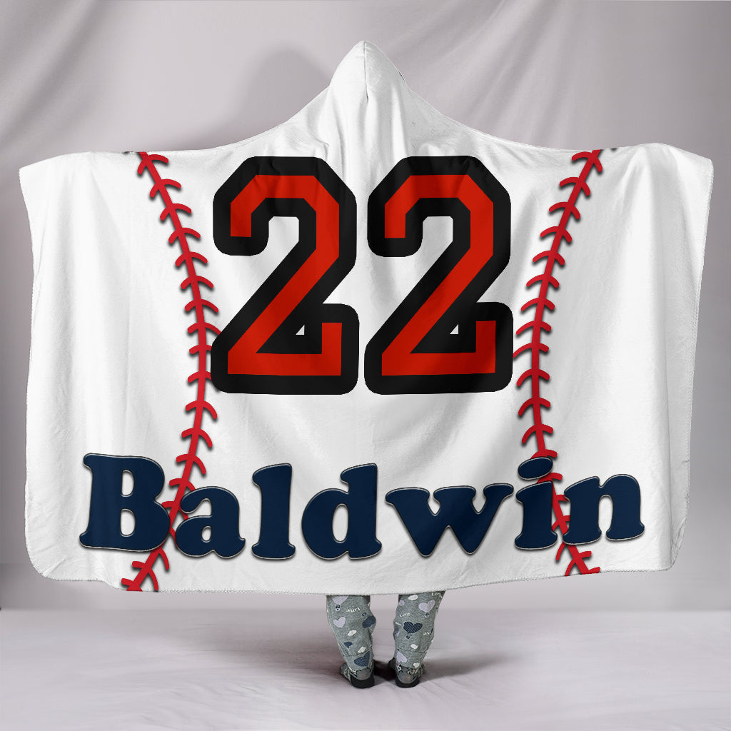 draft personalized hooded blanket 5610