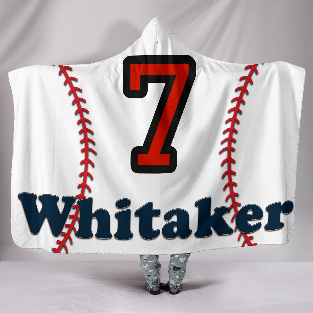 draft personalized hooded blanket 6685