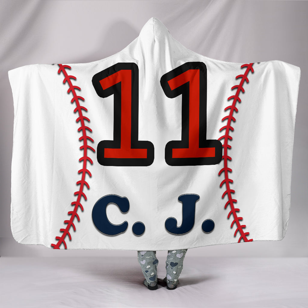 draft personalized hooded blanket 5876