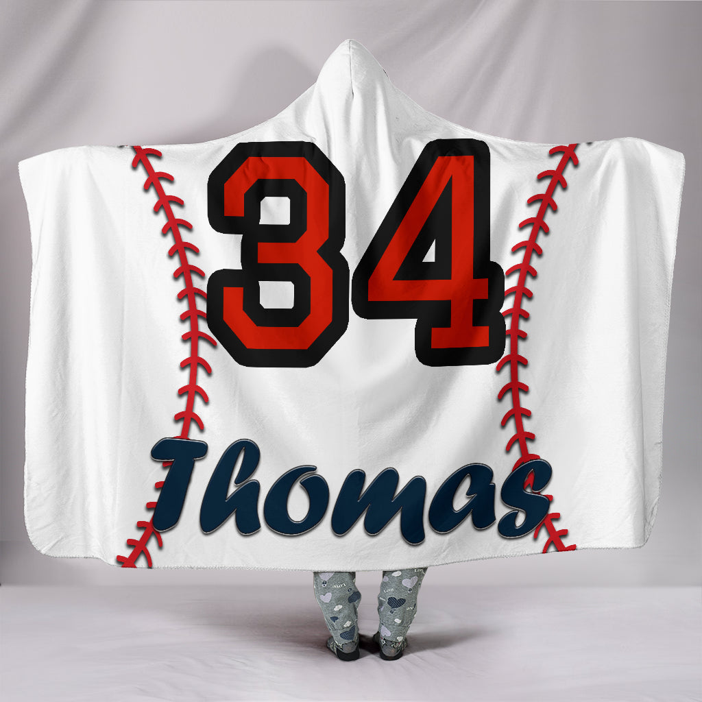 draft personalized hooded blanket 4966