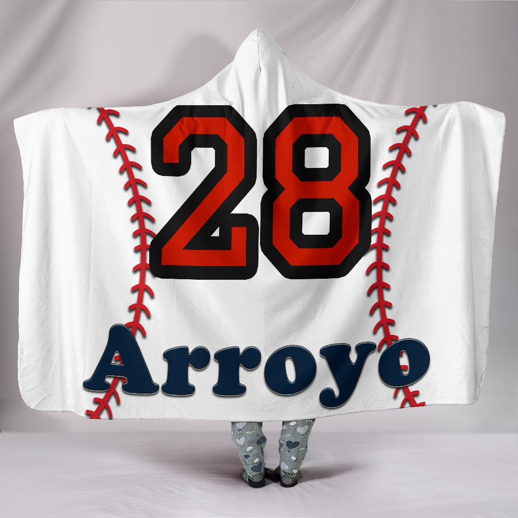draft personalized hooded blanket 5786