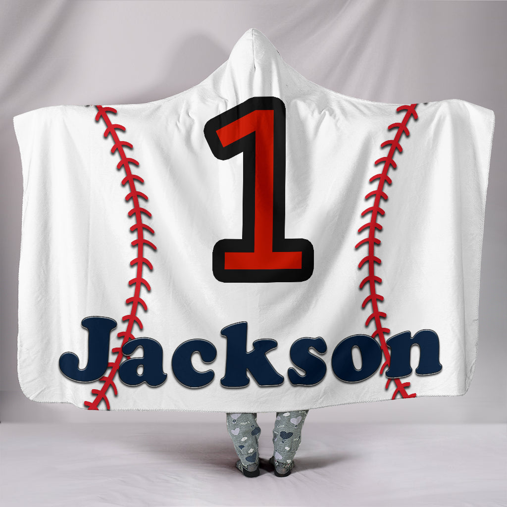 draft personalized hooded blanket 6175