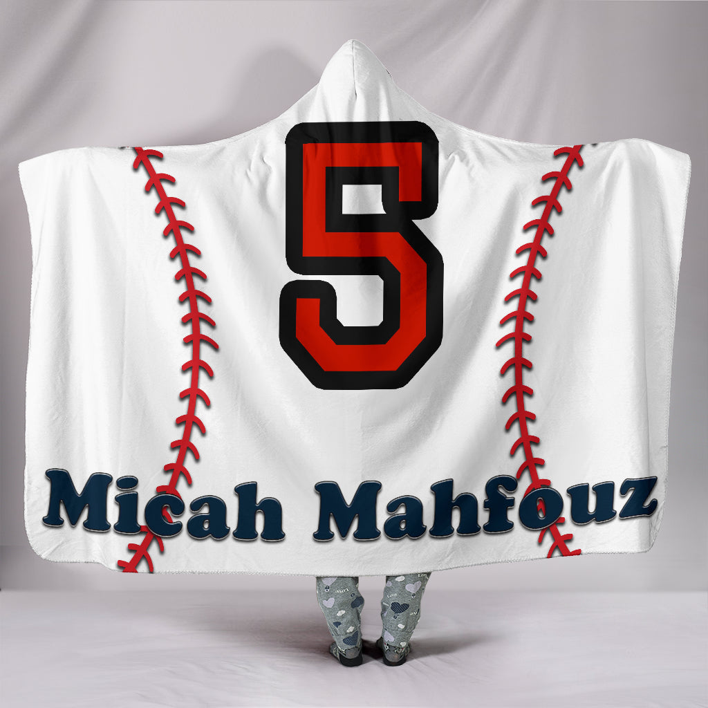 draft personalized hooded blanket 6533