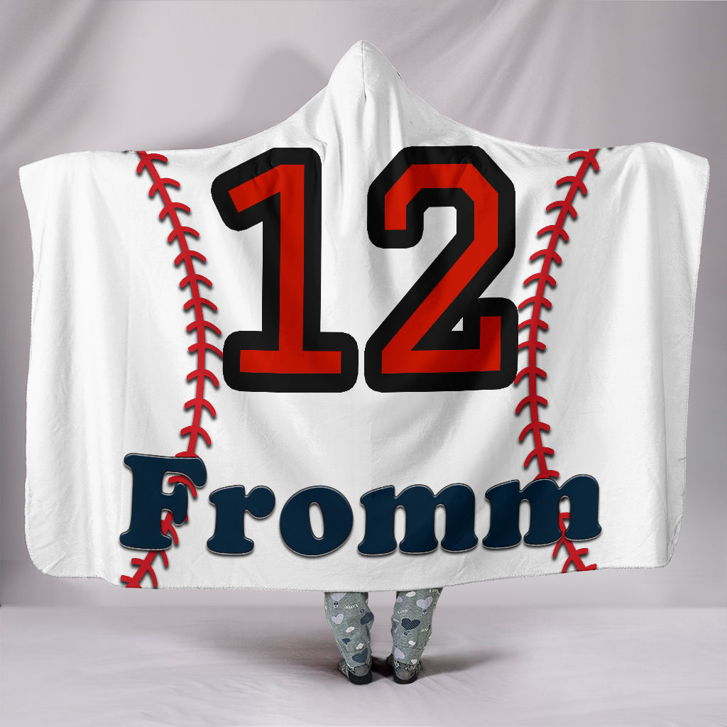 draft personalized hooded blanket 6686