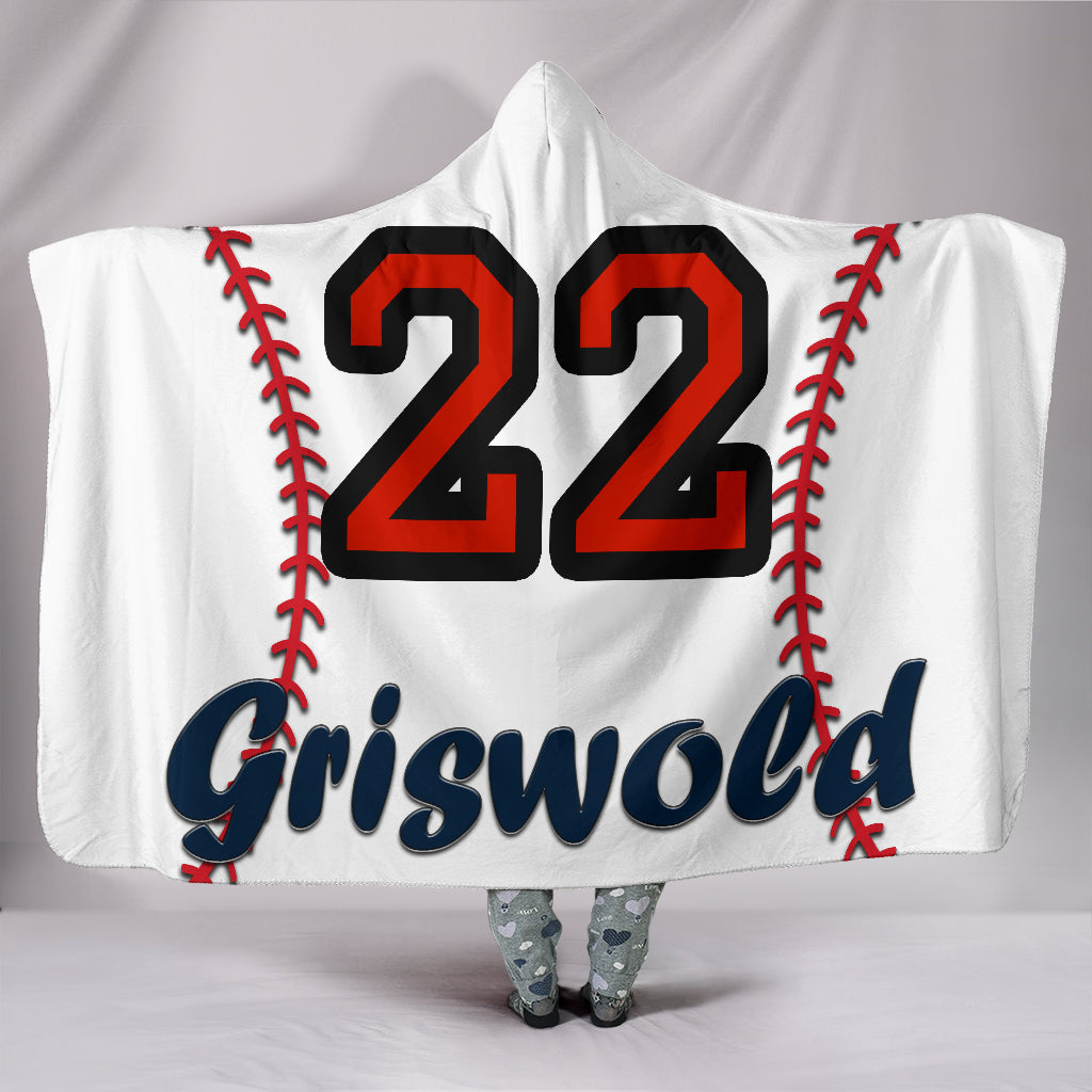 draft personalized hooded blanket 4365