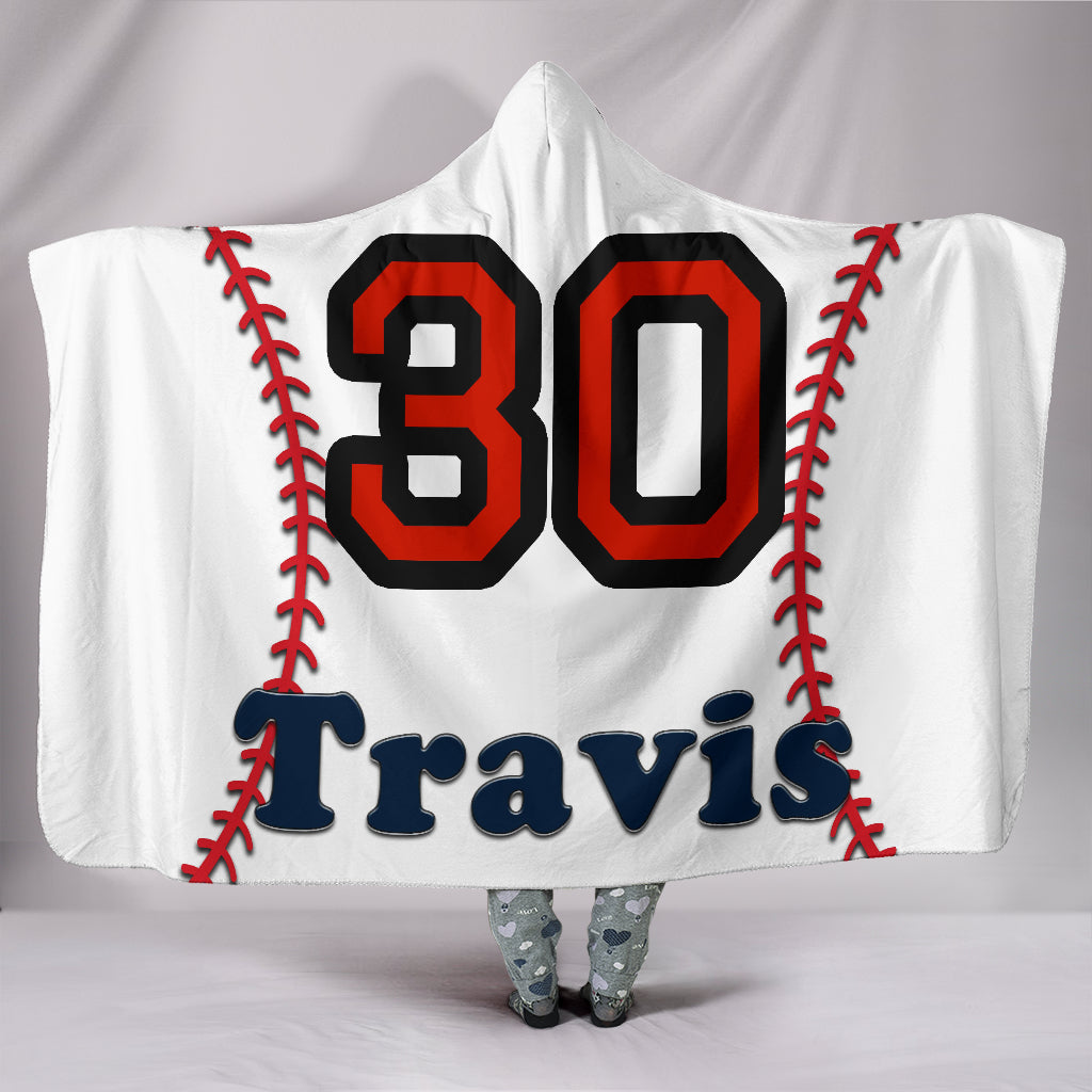 draft personalized hooded blanket 5873
